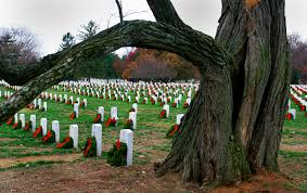 free domain image memorial wreaths on grave