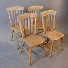 antique kitchen dining chairs set 4 quality victorian elm windsor