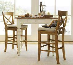 pottery barn counter height table keaton square fixed counter height table french white potterybarn