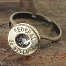 bullet wedding rings bullet ring black federal 38 spl