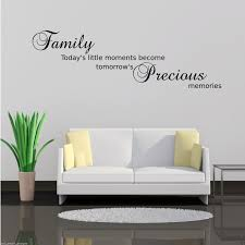 family precious moments wall art sticker lounge quote decal mural