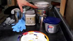 mixing rustoleum oil based enamel for painting decoys youtube