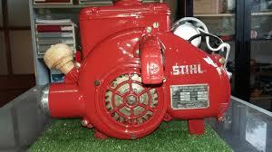 stihl blk 57 motosierra de colección comercial llama