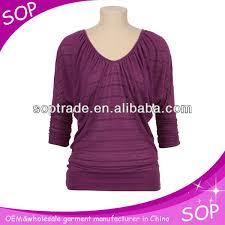 top design fashion top design 3 4 sleeve blouse buy