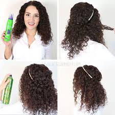 how to get a lifted crown hairdo 7 easy hairstyles for curly hair weekly change ups with garnier