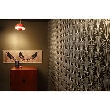 interior design forest self adhesive wallpaper in copper by