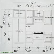 Standard Kitchen Cabinet Height SweetLooking   Size Chart - Standard kitchen cabinet height