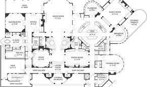 luxury mansion plans plans castle house luxury mansion house plans 6259