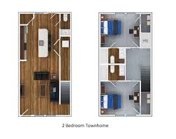 Townhome Floor Plan by Floor Plans Of The Avenue At Orono In Orono Me
