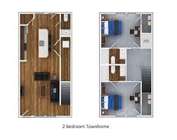2 bedroom 5 bath floor plans