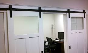Interior Door Hanging Modern Frosted Glass Hanging Shed Door Interior Awesome Interior