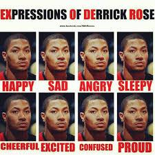 D Rose Memes - derrick rose aka mr personality sportstastic pinterest