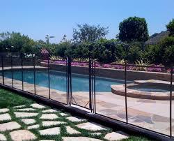 acrylic pool fence tags mesh pool fence installation moore fence
