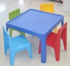 kids plastic table and chairs kids plastic table and chair set from bambino home other of kids
