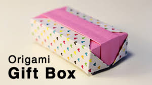 Paper Origami Box - origami gift box with lid tutorial advanced dailymotion