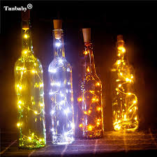 aliexpress com buy tanbaby2m 20led wine bottle light cork shape