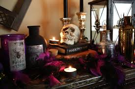 hair raising halloween mantel decorating ideas twin star home