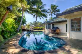 The Beach House Poipu by Single Level Resort Home With Private Swimming Pool Near