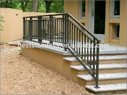Iron Stair Banister Wrought Iron Handrails For Outside Steps Railings Gates And