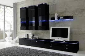 Wohnzimmerschrank Schwarz Moderne Anbauwand Wohnzimmer Ehrfurchtig Auf Dekoideen Fur Ihr