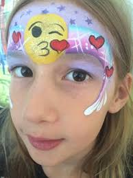 emoji face paint quick u0026 easy face painting pinterest