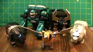 power rangers wild force gao muscle review