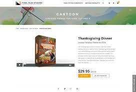 timeline for thanksgiving dinner pixel film studios released thanksgiving dinner for final cut pro x