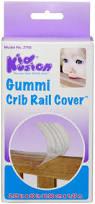 Kidco Convertible Crib Rail by Kidkusion Gummi Crib Rail Teething Cover Extra Wide X Large Guard
