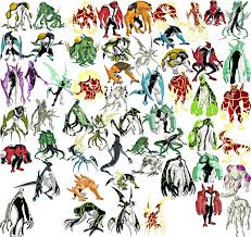 ben 10 is a great tv show for alien warrior inspiration as that u0027s