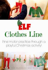 elf clothes line elves clothes and preschool christmas