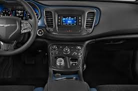 standard chrysler 200 2015 chrysler 200 instrument panel interior photo automotive com