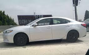 2013 lexus es 350 wheels mystery lexus es spotted in california lexus enthusiast