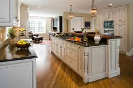 open floor kitchen designs open floor plan transforms colonial traditional kitchen