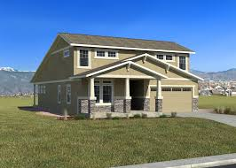 Craftsman Farmhouse The Newport New Homes In Colorado Springs Challenger Homes