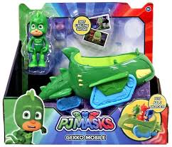 disney junior pj masks gekko mobile vehicle figure play toywiz