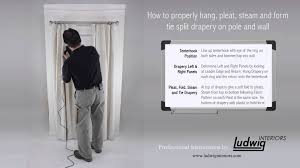 how to hang curtains properly coffee tables how to hang curtain panels with rings how to use 4