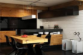 apartment dining and kitchen interior design ideas