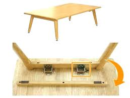 adjustable folding table leg hardware card table hinge onesong me