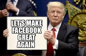 How To Make A Facebook Meme - meme creator let s make facebook great again meme generator at
