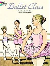 favorite ballets coloring book dover fashion coloring book