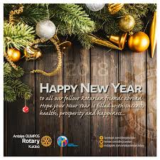 happy new year to all our fellow rotarian friends abroad your