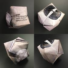step by step how to write a research paper fold and expand your own beam origami module nasa origabeami collage
