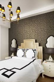 Chandelier With Black Shades Art Deco Style Bedroom With Metal Chandelier With Black Shades