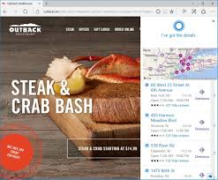 outback thanksgiving hours how to use cortana with microsoft edge on windows 10 windows central
