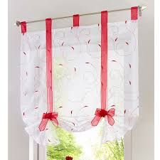 Curtains In The Kitchen by Roman Blinds Can Be Furnished With Balcony Curtains In The Kitchen