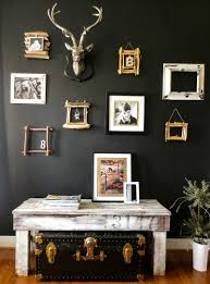 down to earth style paint a black accent wall