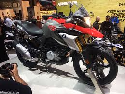 2017 bmw g310gs unveiled at eicma
