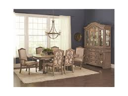 coaster ilana traditional rectangular dining table with two