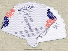 Wedding Program On A Fan 29 Best Kerri U0026 Rob U0027s Wedding Bridal Shower Images On Pinterest