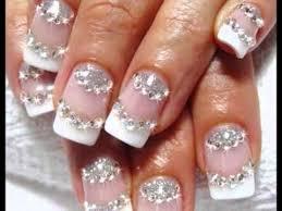 imagenes de uñas acrilicas con pedreria uñas con piedras uñas con piedras decoradas fotos de uñas con